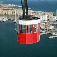 cable car port Barcelona