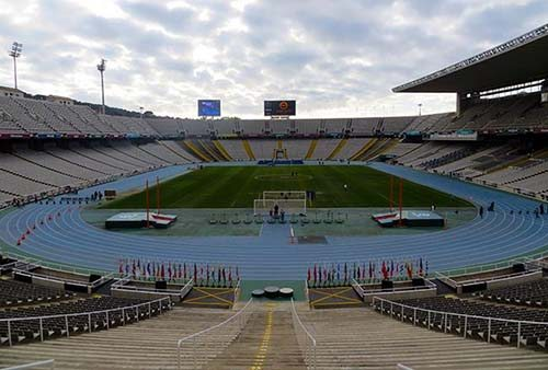 Olympic Stadium of Barcelona
