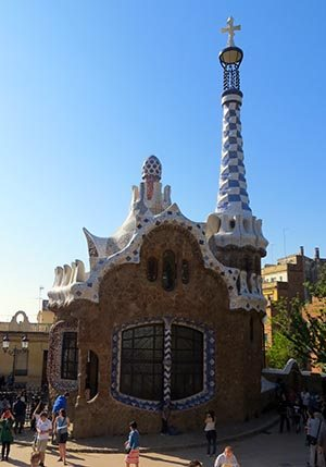 entrance Park Guell